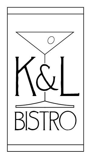 K&L Bistro business card