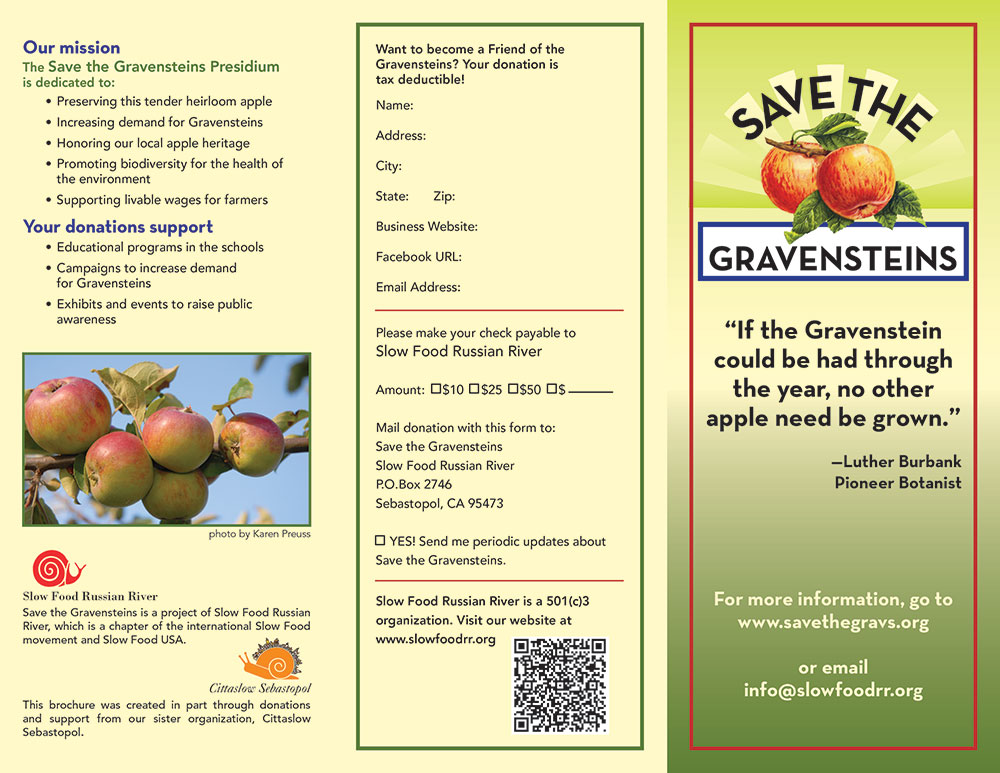 Save the Gravensteins