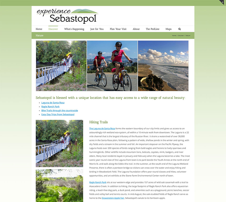 Cittaslow - experience - website