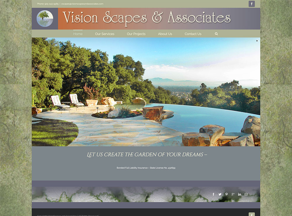 Vision Scapes web-home