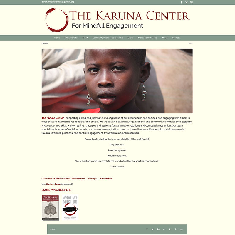 The Karuna Center for Mindful Engagement