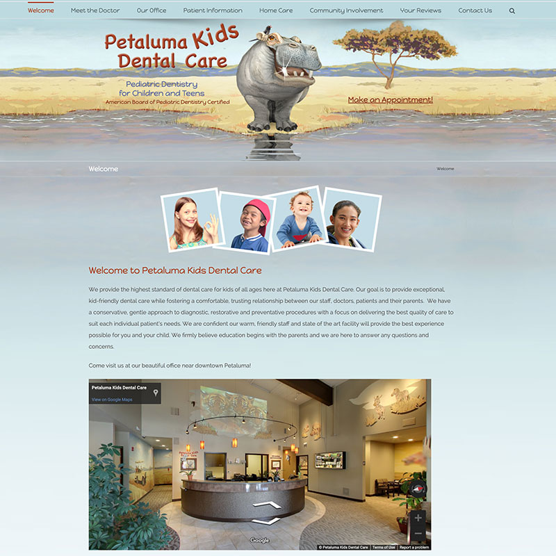 Petaluma Kids Dental Care, Petaluma CA
